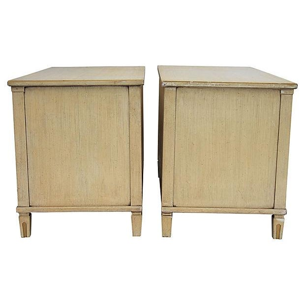 Neoclassical-Style Commodes - Pair - Image 5 of 10