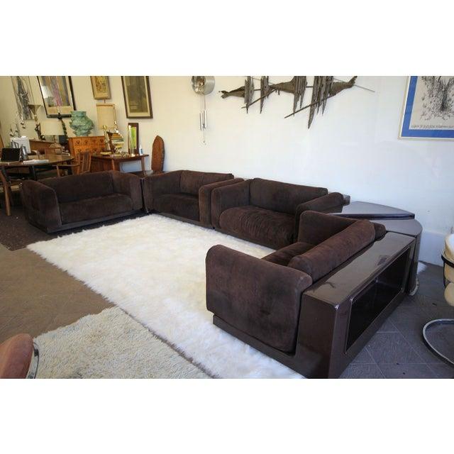 Rare 6 Piece Cini Boeri Knoll Gavina Modular Sofa