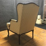 Image of Vintage French Style Wingback Armchair