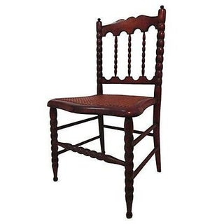 Early 1800s Hand Carved Child's Chair