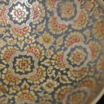 Image of Set of Hand-Etched Enameled Brass Bowls