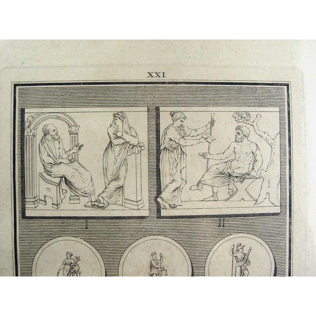 1755 Engraving Roman Medallions - Image 5 of 6