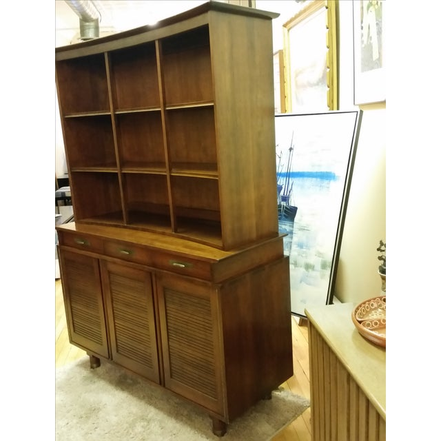 1955 Trans-East Cherry Willett China Top & Hutch - Image 5 of 10