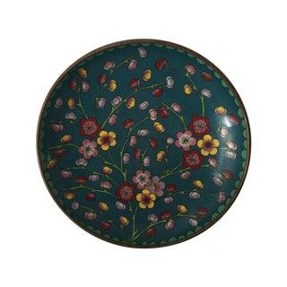Vintage Cloisonne Dish