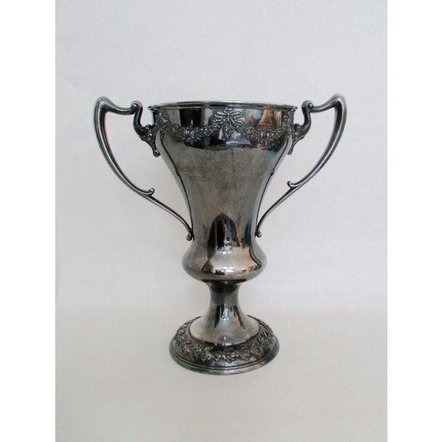 Image of Antique 1920 Theology Debate Loving Cup Trophy