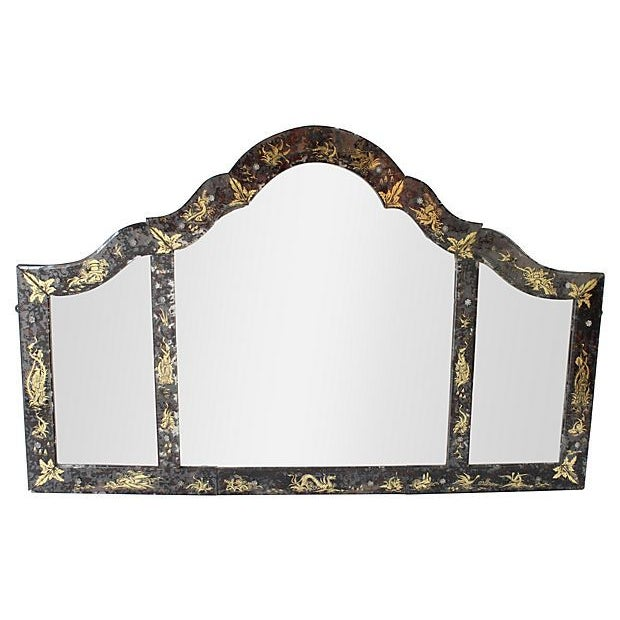 Chinoiserie Eglomise Mirror - Image 1 of 5