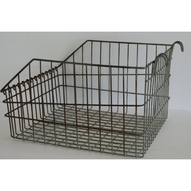 Image of Wire Bicycle Basket
