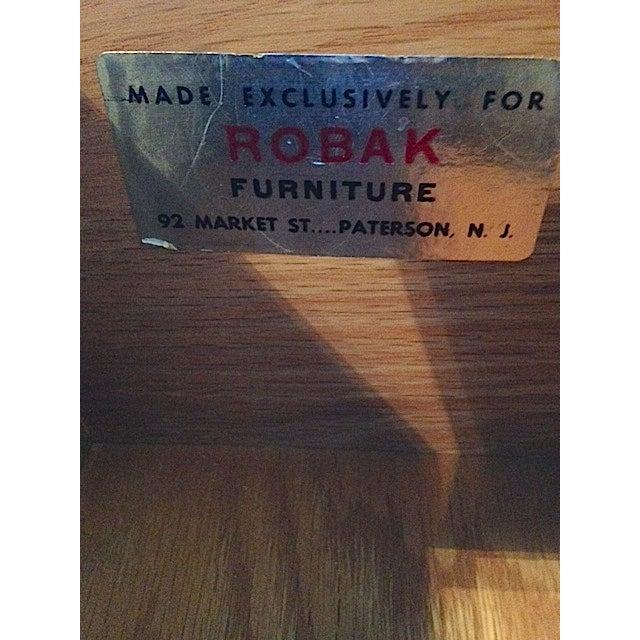 Mid-Century Robak Corner Table - Image 5 of 8