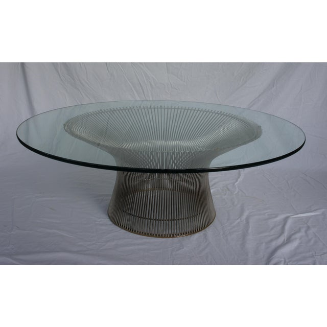 Warren Platner Coffee Table By Knoll Chairish