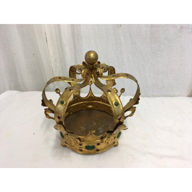 Florentine Gilt Metal Crown - Image 3 of 7