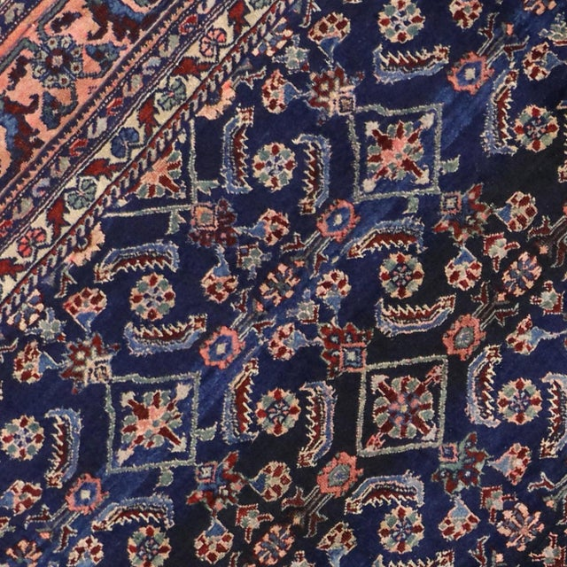 Antique Persian Traditional Modern Style Lilihan Rug - 3′10″ × 5′6″ - Image 4 of 6