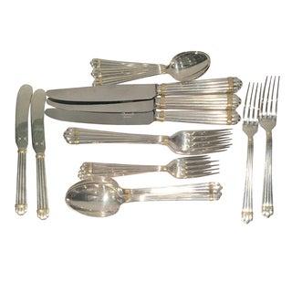 "Christofle ""Aria Gold"" Silverware - 24 Pieces"