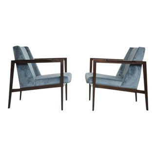 Dunbar Open Frame Lounge Chairs by Edward Wormley