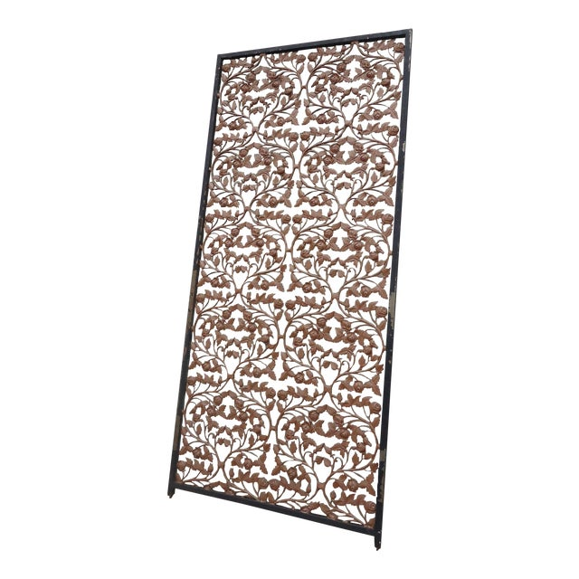 Vintage Wrought Iron Room Divider - Image 1 of 4
