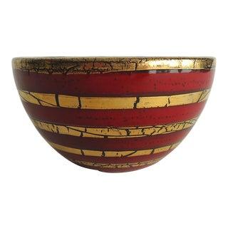 Mid-Century Italian Pottery Bowl