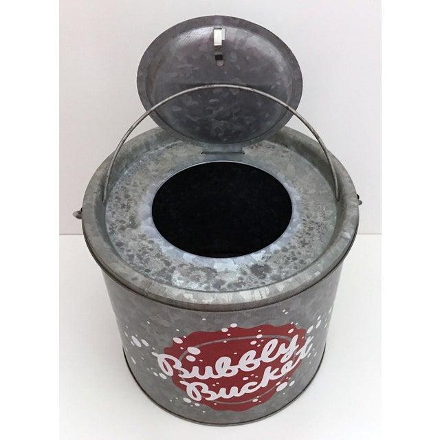 "Galvanized Metal ""Bubbly Bucket"" - Image 3 of 6"