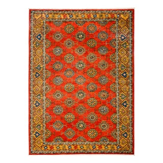 "Traditional Hand-Knotted Rug - 6'3"" x 8'5"""