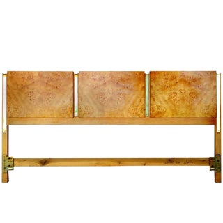 Burl Olive Ash King Headboard by Thomasville