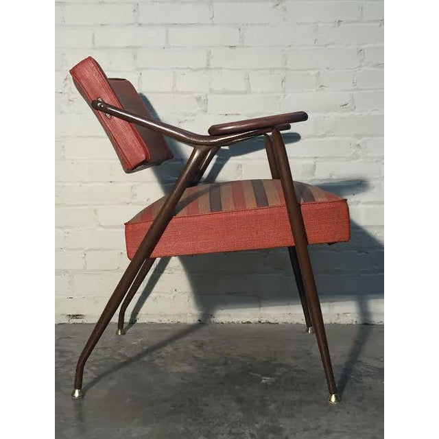 Viko by Baumritter Mid-Century Modern Lounge Chair - Image 9 of 11