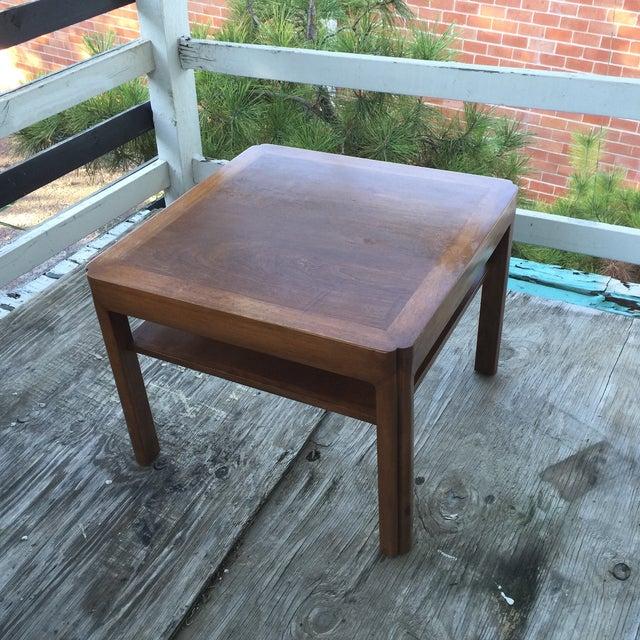 Mid-Century Walnut Side Table - Image 2 of 7