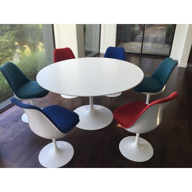 Image of Eero Saarinen for Knoll Tulip Chairs - Set of 6