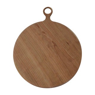 Handled Cherry Serving Board