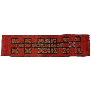 Vintage Berber Moroccan Red Runner, 2'10 X 11'7