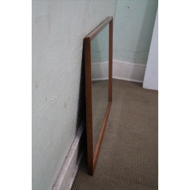 Image of Heritage Henredon Mid-Century Modern Walnut Mirror