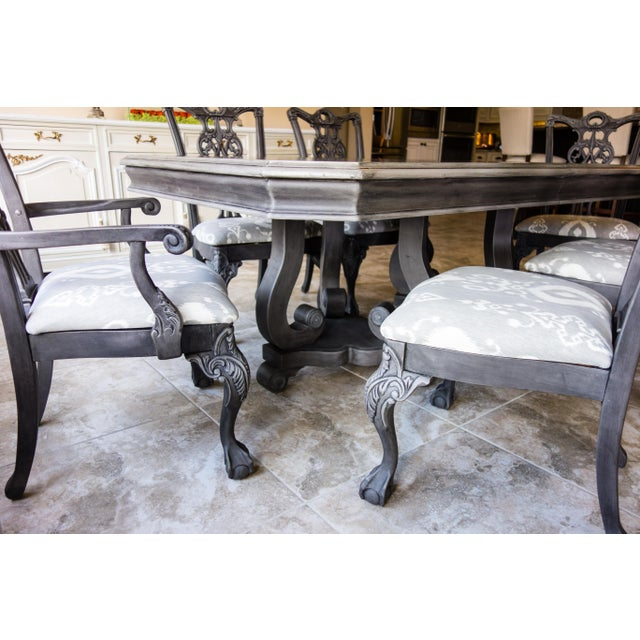 Reproduction Chippendale Dining Set - Image 5 of 11