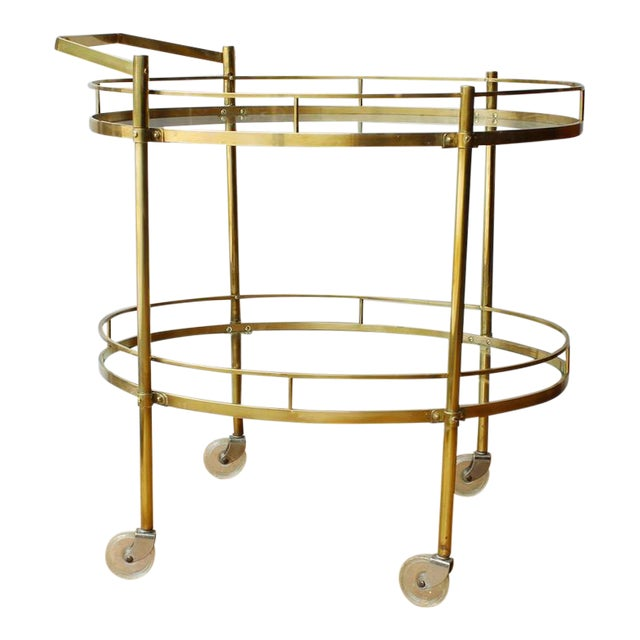 Maxwell Phillips Solid Brass Server - Image 1 of 4
