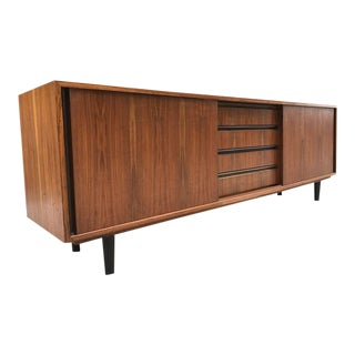 Danish Teak and Rosewood Credenza