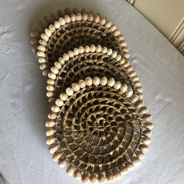 Boho Beach House Seashell Trivets - Set of 4 - Image 8 of 8