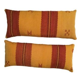 Moroccan Cactus Silk Pillow - A Pair