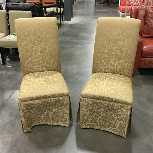 Ornate Accent Chairs - A Pair - Image 2 of 5