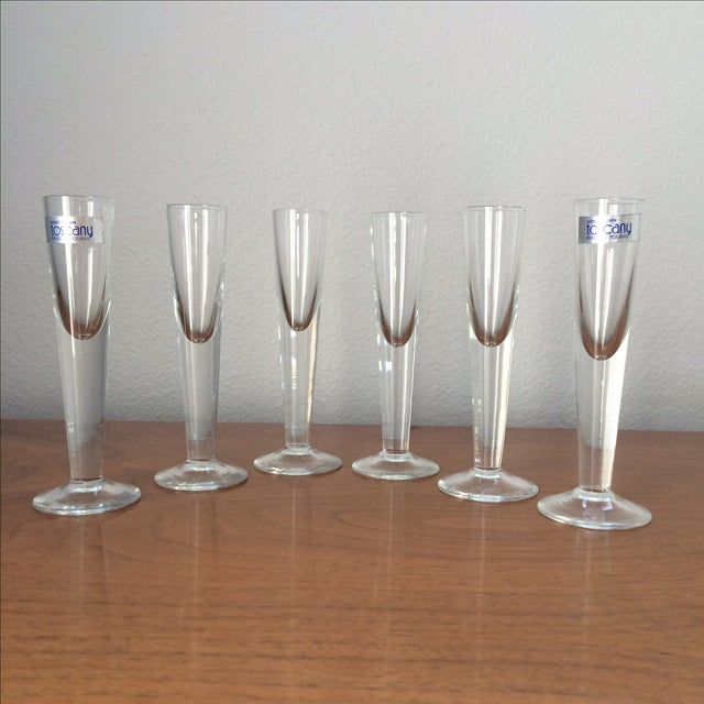 Vintage Cordial Glasses - Set of 6 - Image 2 of 11