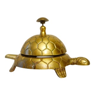 Brass Turtle Hospitality Bell