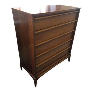 Lane Rhythm Tall Boy 5 Drawer Dresser