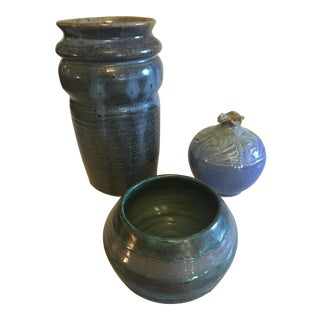 Studio Pottery Collection - Set of 3