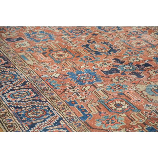 Vintage Heriz Carpet- 7′4″ × 10′1″ - Image 3 of 10