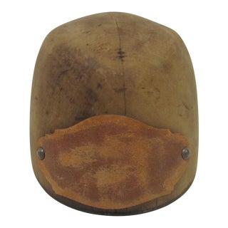 Antique Wooden Hat Mold