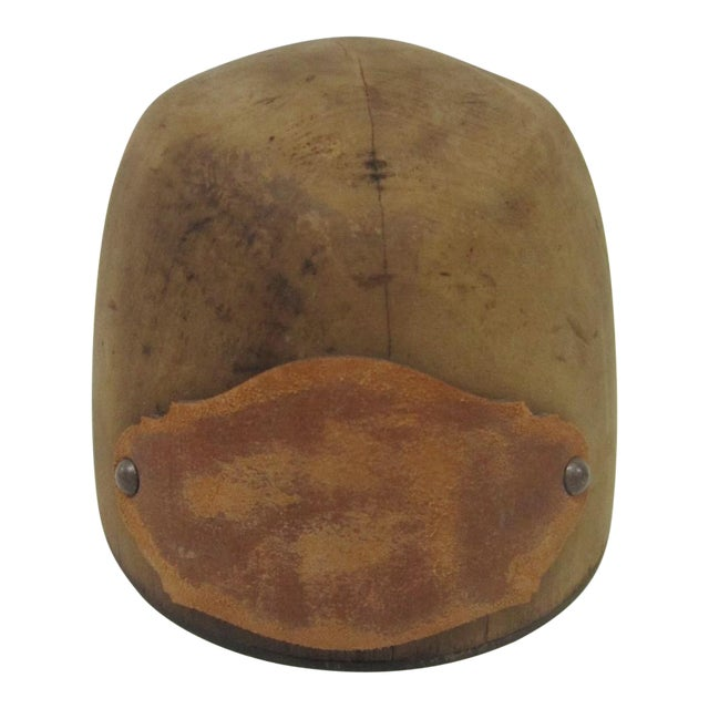 Antique Wooden Hat Mold - Image 1 of 4