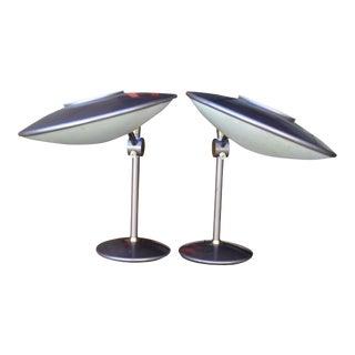 Vintage Dazor Desk Lamps Model No. 2008 - a Pair