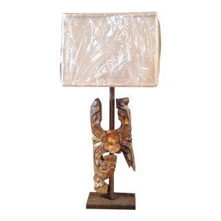 Antique 18th Century French Fragment Lamp