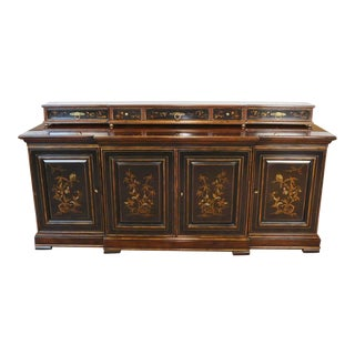 Drexel Heritage Connoisseur Collection Asian Dining Buffet 1980s