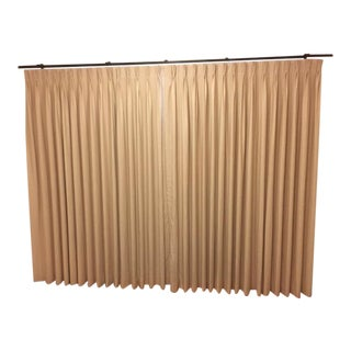 Linen Blackout Drapes - 2 Panels