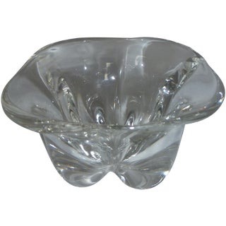 Mid-Century Swedish Orrefors Glass Bowl