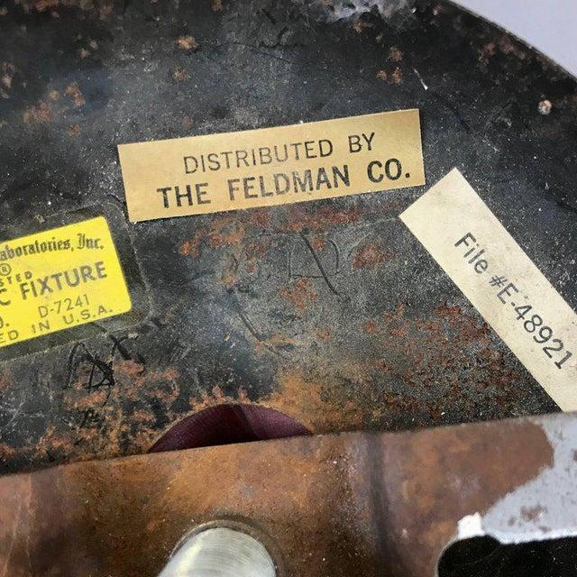 Tom Greene for Feldman Brutalist Brass Chandelier - Image 8 of 9