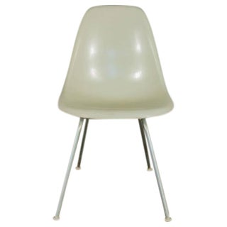 Charles and Ray Eames for Herman Miller White Shell Chairs