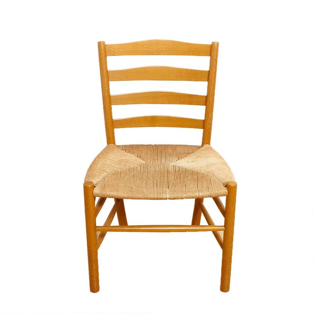 Kaare Klint's 'Church' Chairs with Cord - Set of 6 - Image 2 of 5