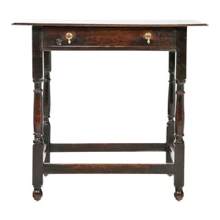 Georgian Oak Writing Table